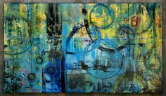 Oversized Modern Abstract Painting Extra by LauraLetchingerArt, $2600.00