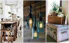 20 Rustic ideas to decorate your home