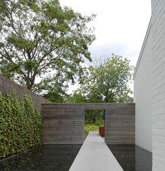 modern landscape filip van damme #water #reflecting pool
