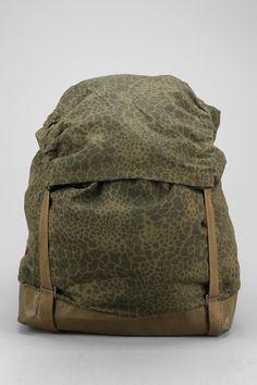 FAIF X Urban Renewal Vintage Polish Leopard Backpack #urbanoutfitters