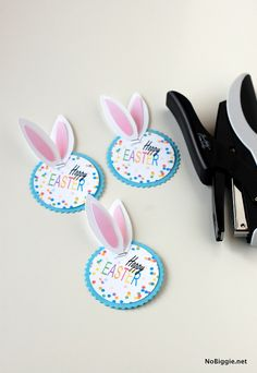 Happy Easter tags (free printable)- NoBiggie.net