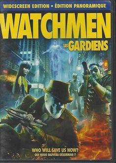 Watchmen (DVD, 2009, Canadian; Widescreen) Malin Akerman, Jackie Earle Haley