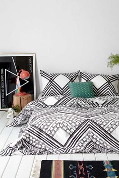 Magical Thinking Mirrored Sumatra Duvet Cover  - Urban Outfitters