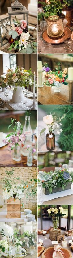 rustic wedding centerieces you may love