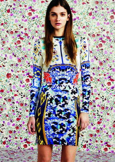 MARY KATRANTZOU FOR TOPSHOP - I want to wear this now with yellow kitten-heeled sandals and HUGE sunnies.