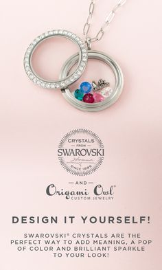 Finding the perfect gift for her is easy! You can design it yourself with our Swarovski Crystals. #origamiowl #swarovski #GiftForHer