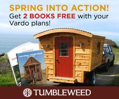 Loving this new set of DIY plans for your camper shell from TumbleweedHouses.com