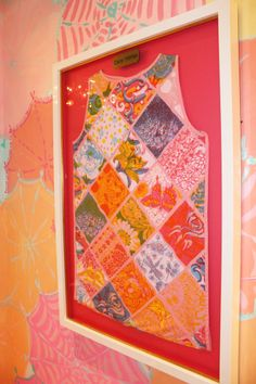 Vintage Lilly Shift in the Lilly Pulitzer Waterside Dressing Room in Naples