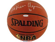 Hakeem Olajuwon Autographed Official NBA Basketball