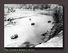 Hurricane Hazel,1954,Toronto,Ontario,Canada Toronto Ontario Canada, Toronto City, Old Pictures, Old Photos, Hurricane Hazel, Atlantic Hurricane, West Village, Time Capsule, Landscape Photos