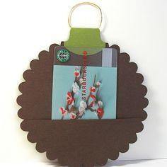 ornament gc holder