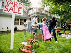 yard sale yard signage