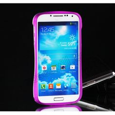High Quality Cleave Aluminum Metal Bumper Frame Case For Samsung Galaxy S4 i9500 - Purple US$21.99
