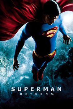 Superman Returns Movie Poster - Brandon Routh, Kevin Spacey, Kate Bosworth  #SupermanReturns, #MoviePoster, #ActionAdventure, #BryanSinger, #BrandonRouth, #KateBosworth, #KevinSpacey