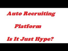 Auto Recruiting Platform Review| {WARNING} Is ARP Right For You? - Is Qu...