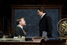 """Moriarty meets Holmes, """"SH:Game of Shadows"""" with Jared Harris"""
