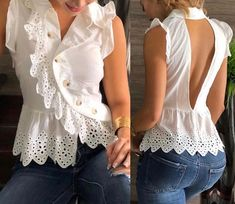 Old Tee Shirts Best Wear Fashion Dresses Boho Fashion Lace Insert Formal Dresses Wedding Dresses Fashion Books Diy Clothes Dress Outfits, Casual Outfits, Fashion Dresses, Blouse Styles, Blouse Designs, Blouse Vintage, Mode Style, African Fashion, Casual Chic