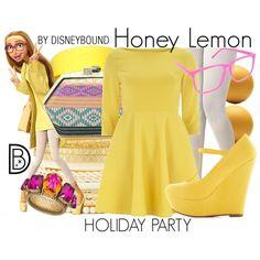 """Honey Lemon"" by leslieakay on Polyvore"