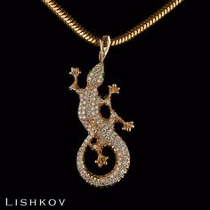 Diamond lizard - Statement lizard - Rose gold lizard - May's birthstone - April's birthstone - White gold lizard - Yellow gold lizard