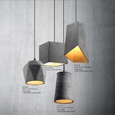 Check out this product on Alibaba.com App:LED residential commercial modern vintage concrete chandelier pendant light https://m.alibaba.com/bYVVNn