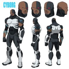 Cyborg's Justice League: Doom design by Phil Bourassa Cyborg Dc Comics, Dc Comics Art, Marvel Dc Comics, Teen Titans, Comic Character, Character Concept, Comic Art, Comic Books, Batman Hush