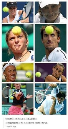 Tennis faces are gold daily funny, the funny, haha, funny sports pictures, Funny Sports Pictures, Funny Sports Memes, Sports Humor, Funny Memes, Jokes, Silly Pictures, Funny Photos, Lol, Haha Funny