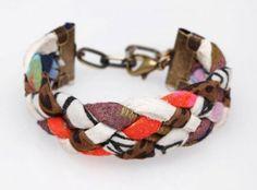 Bracelet tissu tressé Thief and Bandit