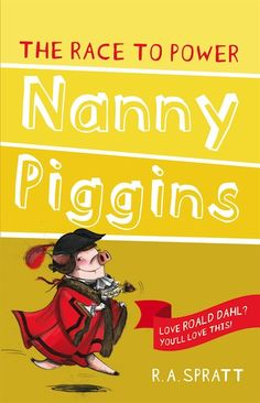 Children's Book Review and Giveaway (Australia) - Nanny Piggins and the Race to Power