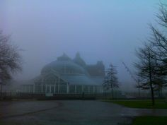 'People's Palace in the winter fog' -   Shubham Maheshwari | People's Palace in the winter fog