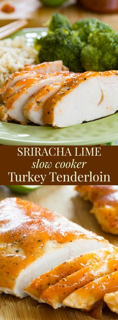 Superb Sriracha Lime Slow Cooker Turkey Tenderloin – a sweet and spicy easy dinner recipe with healthy, protein-packed turkey. The post Sriracha Lime Slow Cooker Turkey Tenderloin – a sweet and spicy easy … appeared first on Recipes 2019 . Turkey Tenderloin Recipes, Turkey Recipes, Paleo Recipes, Cooking Recipes, Kid Recipes, Slow Cooker Recipes, Crockpot Recipes, Slow Cooker Turkey, Keto