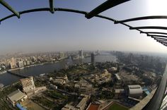 Sight of Cairo from a tower
