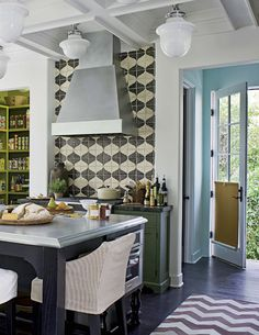 Mix and match patterned tiles