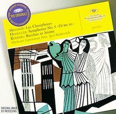 MILHAUD Les Coéphores - Markevitch - Deutsche Grammophon