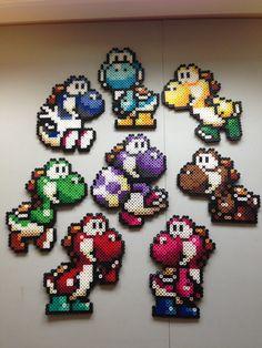 De Super Mario Bros 2: Yoshi Island, certains lyoshi disponible qui sont disponibles dans le jeu. Tellement mignon!  Elles sexécutent dans la