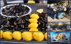 Turkish Street Food - Stuffed Mussels in Izmir