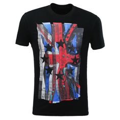 Flag Star Patch Tee