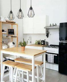 Kitchen Room Design, Home Room Design, Kitchen Sets, Home Decor Kitchen, Home Kitchens, Kitchen Counters, House Design, Home Interior, Kitchen Interior
