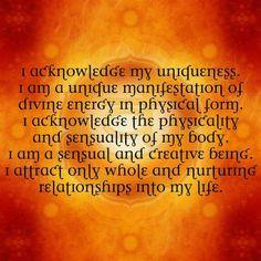 A Kundalini Yogini View | The Sacral Chakra | Svadisthana | Mystic ...