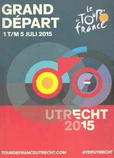Liking this poster for the Grand Départ of the Tour de France 2015 in Uitrecht.