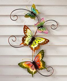 Look what I found on #zulily! Butterfly Scroll 3-D Wall Art #zulilyfinds