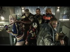 'Suicide Squad ' Cast Photo Featuring Harley Quinn (Margot Robbie), Killer Croc (Adewale Akinnuoye-Agbaje), Katana (Karen Fukuhara), Rick Flagg (Joel Kinnaman), Deadshot (Will Smith) and Captain Boomerang (Jai Courtney) Jai Courtney, Will Smith, Harley Quinn, Deadshot, Batman Vs Superman, Batman Arkham, Man Of Steel, New Trailers, Movie Trailers