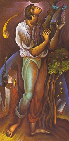 Greece -by George Kordis ~~~. Nice Art, Cool Art, Richard Burlet, Blue Boat, Byzantine Art, Tempera, Figurative, Painters, Painting & Drawing
