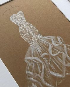 Fashion Design Drawings, Designs To Draw, Chain, Jewelry, Weeding Dresses, Art, Shop, Instagram, Sketches