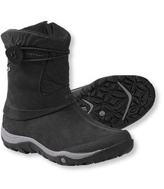 Women's Merrell Dewbrook Waterproof Boots - Great to wear on the way to the resort any day! They fit well under your snowpants.