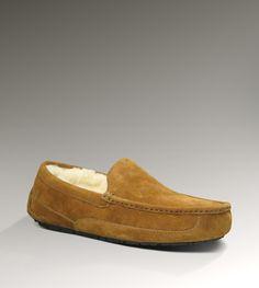 UGG Ascot Men's Chestnut Slippers