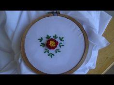 Hand Embroidery: Caston Stitch - YouTube