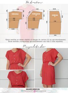 Easy red summer dress