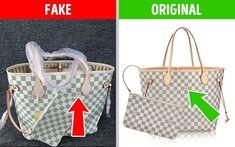 11 συμβουλές που θα σας βοηθήσουν να ξεχωρίσετε το αυθεντικό προϊόν από την απομίμηση. - Toftiaxa.gr Sac Michael Kors, Plus Jamais, Baskets Adidas, Louis Vuitton Damier, Tote Bag, The Originals, Pattern, Bags, Fashion