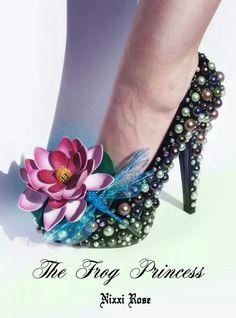 Frog princess shoes by Nixxi Rose