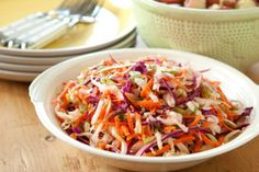 The flavor of this slaw is reminiscent of Chicago-style hot dogs with the distinct taste of celery seed. Excellent on a dog or as a tangy side.